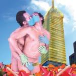 """Rodrigo Cervantes Ramirez Un domingo en la Alameda (A Saturday in Alameda) Photomontage 20 x 16"""" 2010"""