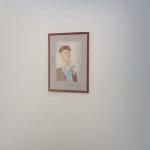 """Thomas Plagemann Self Portrait Water color 11 x 17"""""""