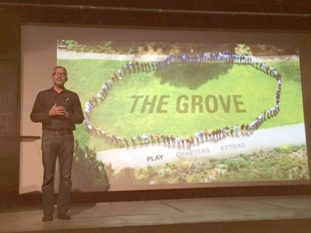 The Grove, filmmaker, Andy Wilson