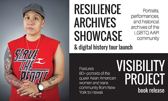 post card of Resilience Archives Showcase invitation
