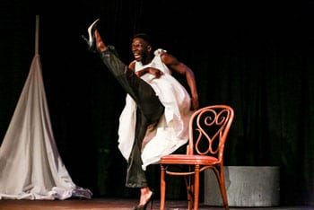 photo from type/caste performance with Rotimi Agbabiaka