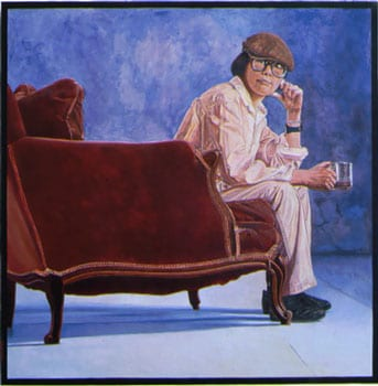 Image of painting of Lenore Chinn self portrait