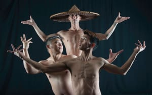 Steamroller Dance image of Asian Men Dancing